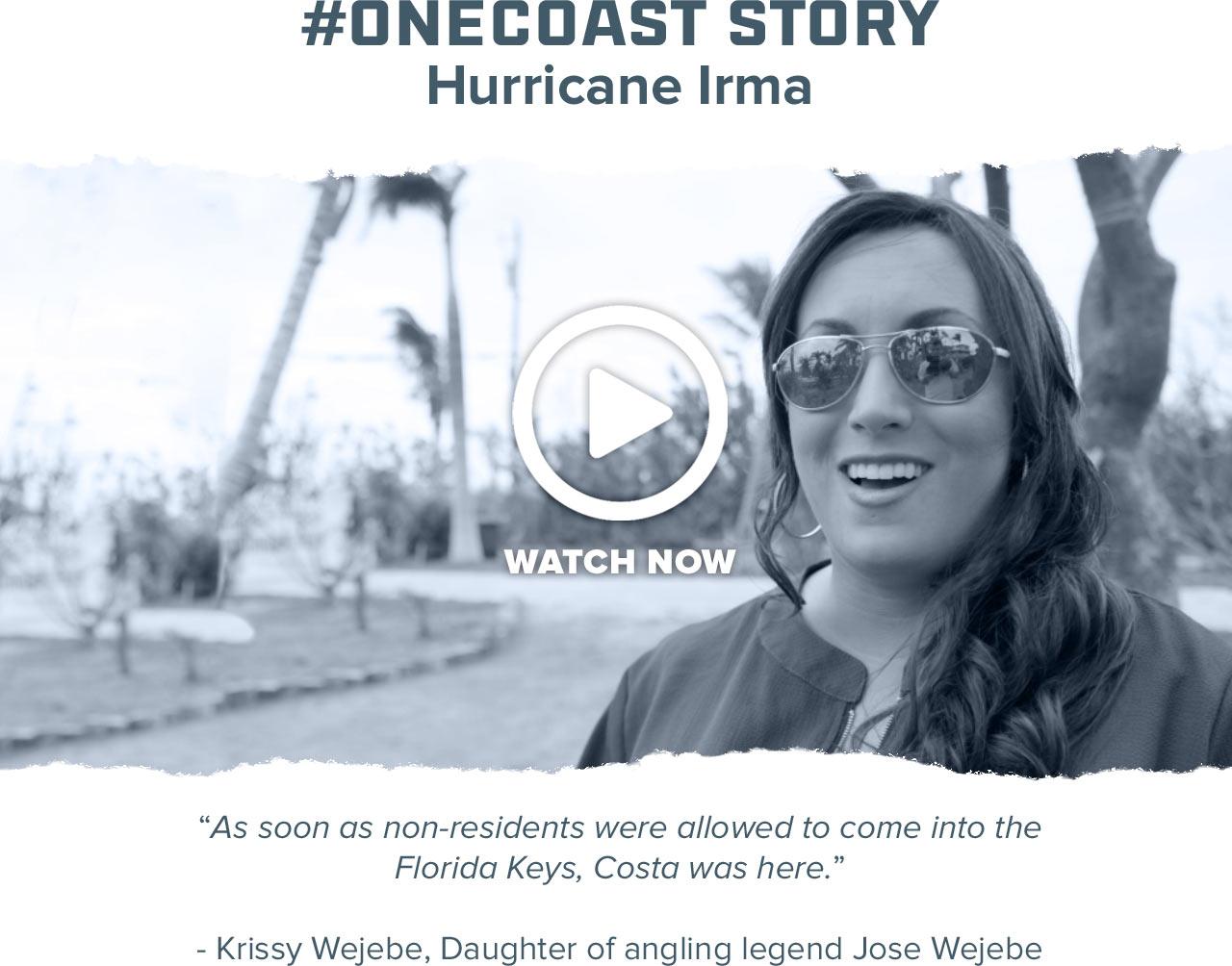 #One Coast Story: Krissy Wejebe