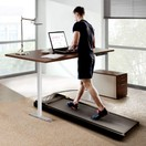 Xiaomi Urevo U1 Under Desk Walking Treadmill + ACGAM Electric Desk