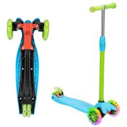 Kids Scooter 3 Wheel 3 Height Adjustable PU LED Light