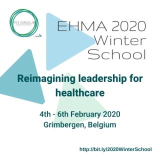 EHMA Winter School on �Reimagining leadership for healthcare