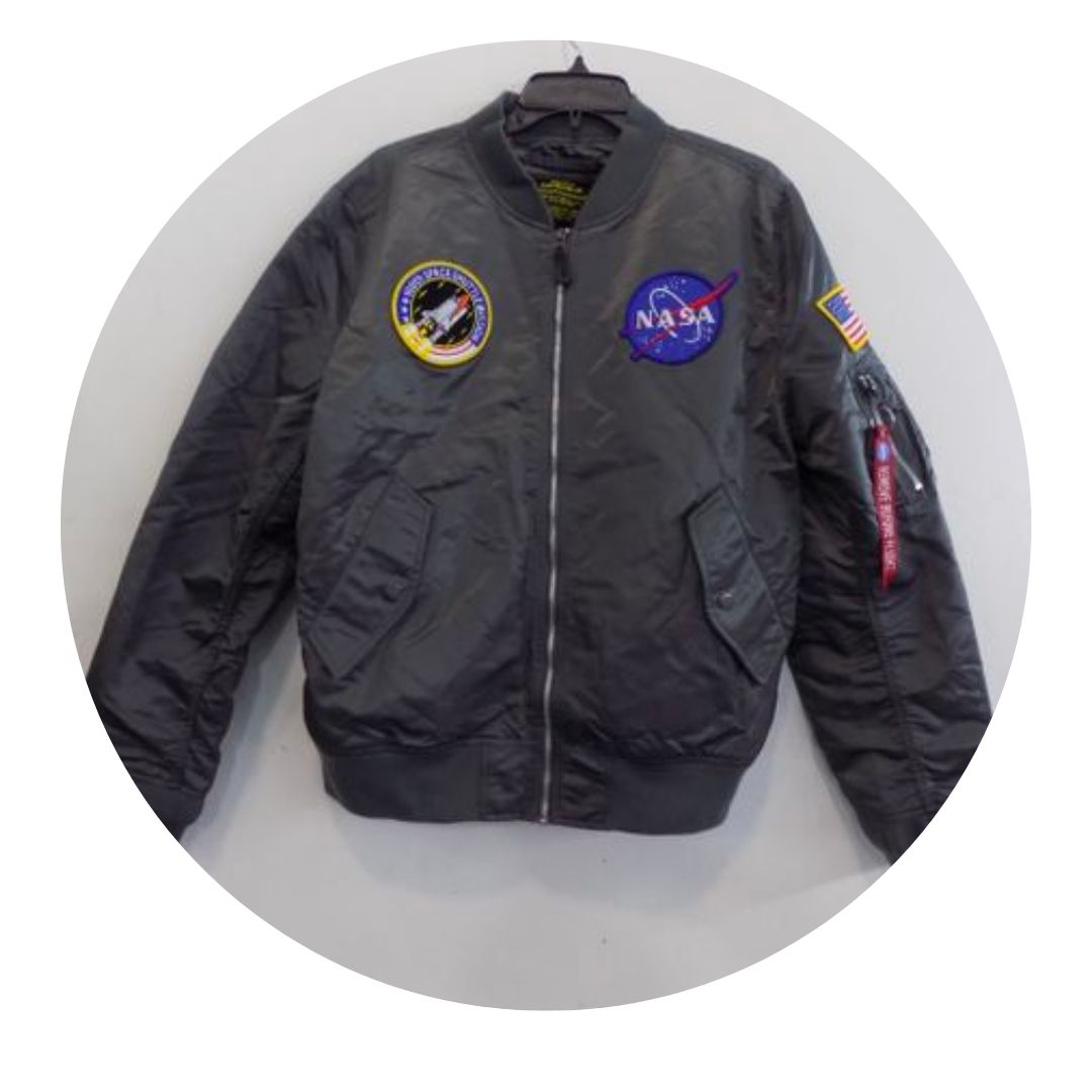 Alpha Industries Fossil Colored Bomber Jacket