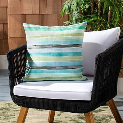 Outdoor Olie Pillow Multi Green