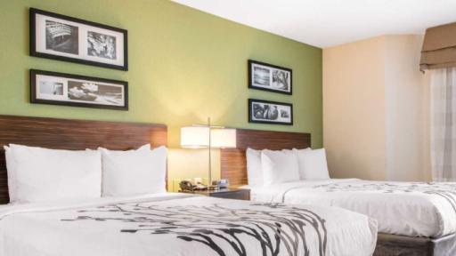 Sleep Inn & Suites Lakeside Columbus 2 beds