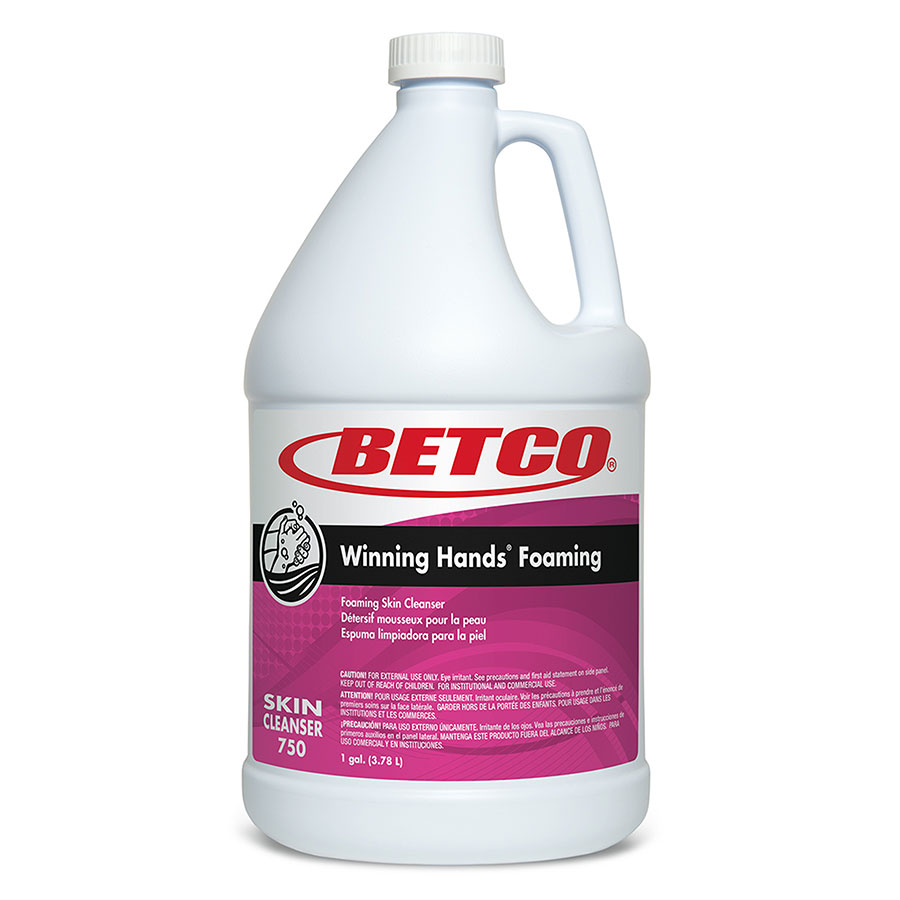 Betco Winning Hands Foaming Skin Cleanser