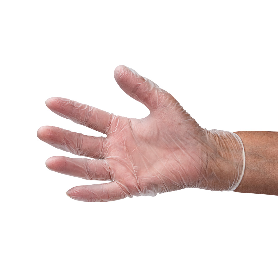 Vinyl Gloves, 2.7 mil, Powder Free, Clear