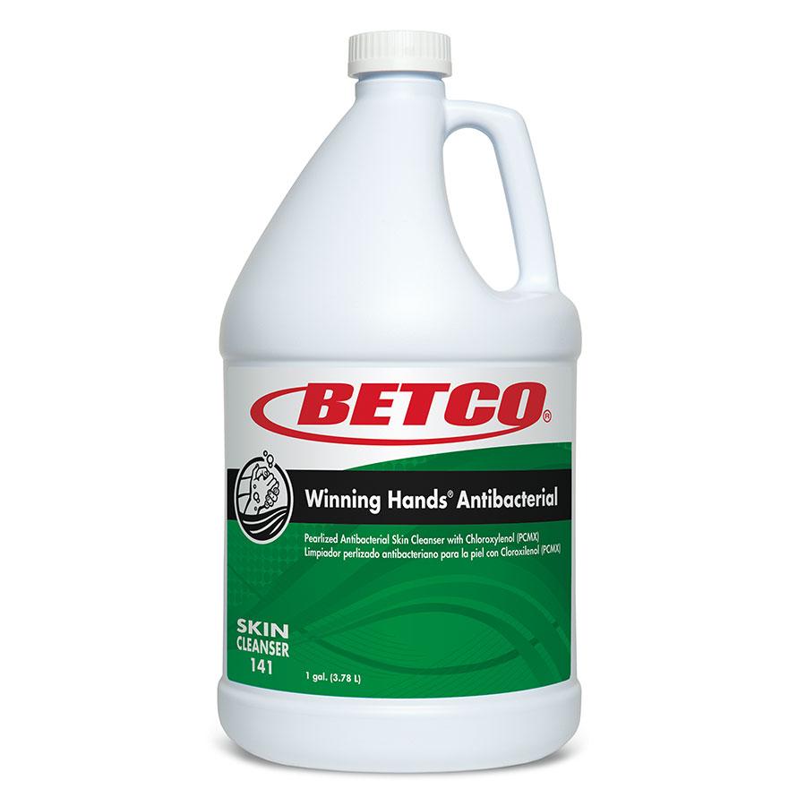 Betco Winning Hands Antibacterial Lotion Skin Cleanser, Gallon