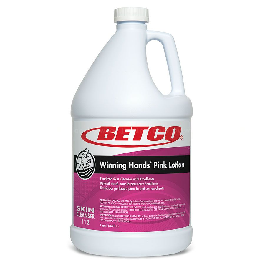 Betco Pink Lotion Skin Cleanser