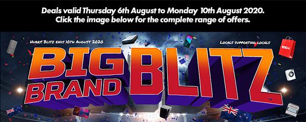 1OOpc Big Brand Blitz August 2020
