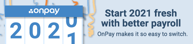 Start 202 fresh with better payroll. OnPay makes it so easy to switch.