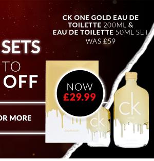 CK One Gold Eau De Toilette 200ml & Eau De Toilette 50ml Set