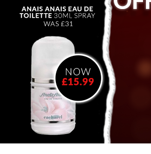 Anais Anais Eau de Toilette 30ml Spray