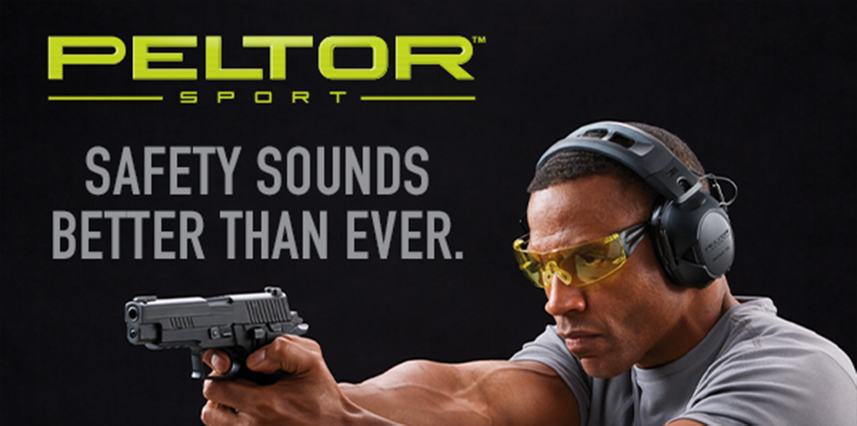 PELTOR ™ SPORT | SAFETY SOUNDS BETTER THAN EVER.