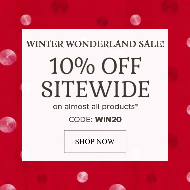 FWINTER WONDERLAND SALE!