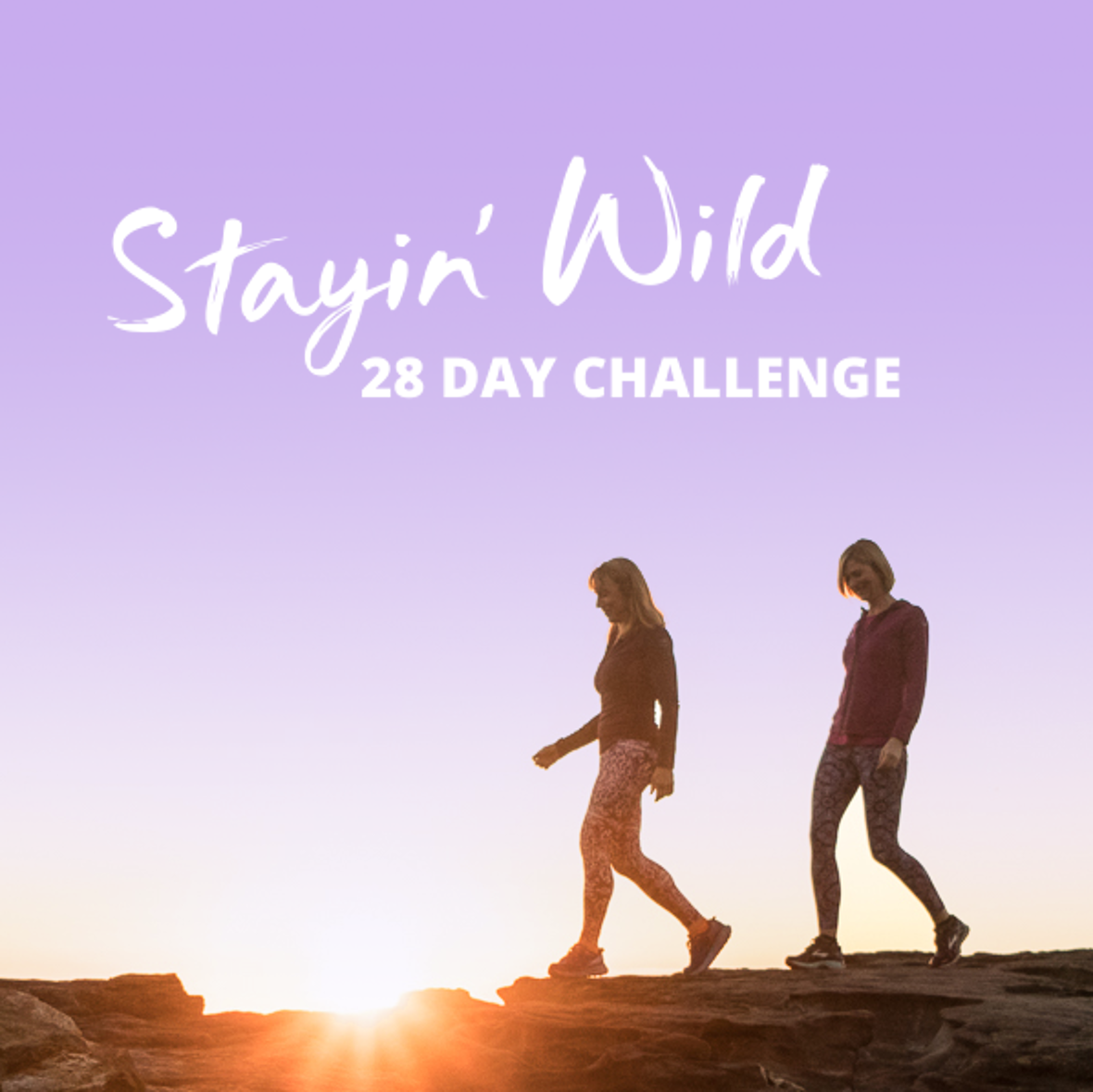 Join Stayin' Wild's 28 Day Challenge!