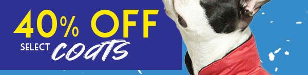 40% Off Coats