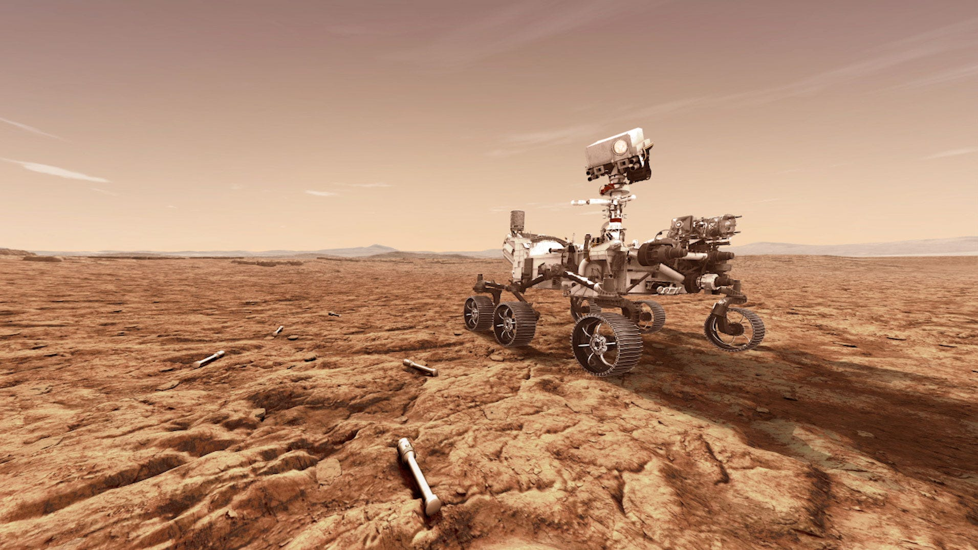 NASA's Mars Perseverance rover will store rock and