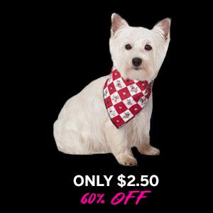 Sweetheart Scottie Dog Bandana