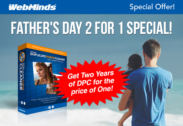 WebMinds Fathers Day Special! Help Dad De-Clutter!