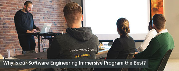 Why is our Software Engineering Immersive Program the best?