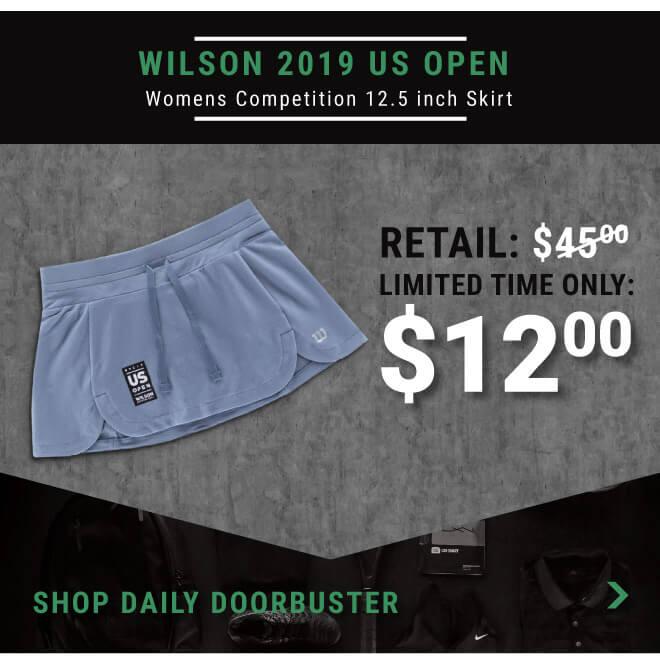 Shop Wilson US Open skirt