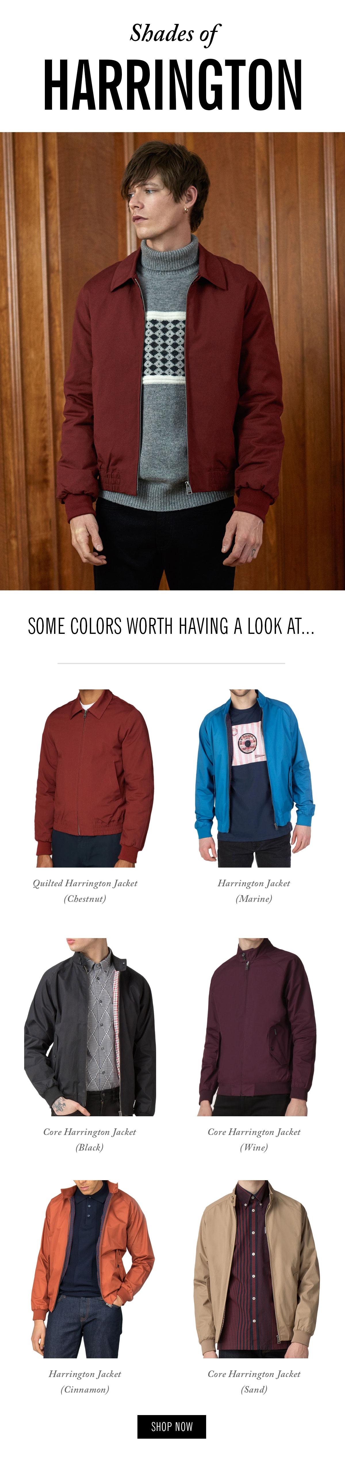 Shades of Harrington | Harrington jackets