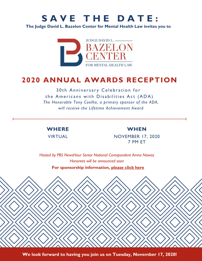 Bazelon 2020 Virtual Event Save The Date Flyer