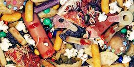 Assorted junk foods - Image