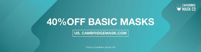 40% OFF All BASIC Mask (USA only)