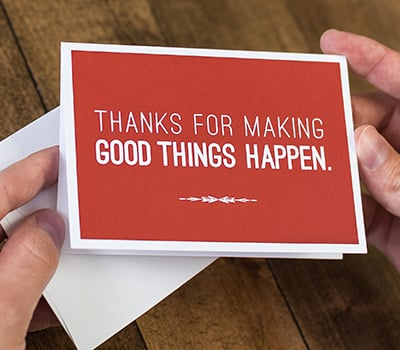 Make Good Things Happen Cards