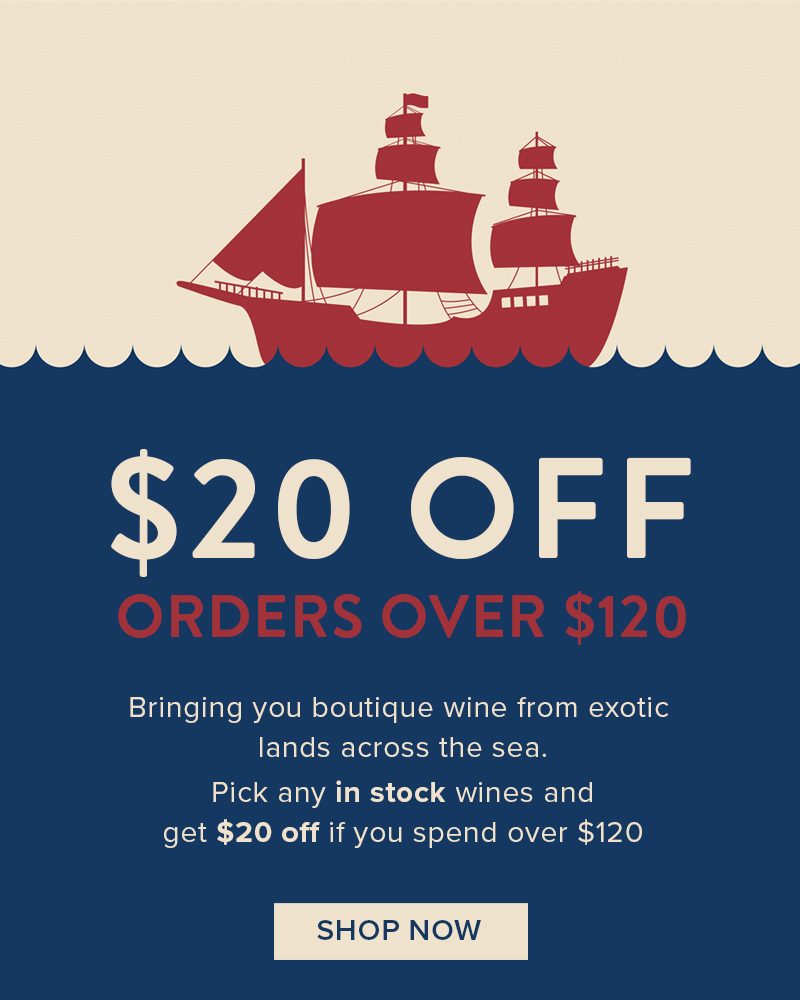 $20 OFF ORDERS OVER $120