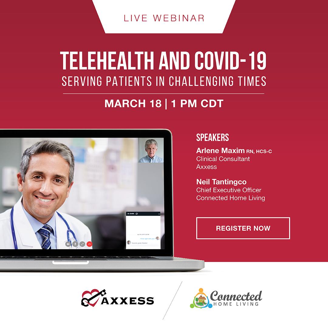 Live Webinar | Telehealth and COVID-19