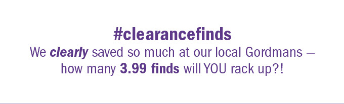 #clearancefinds