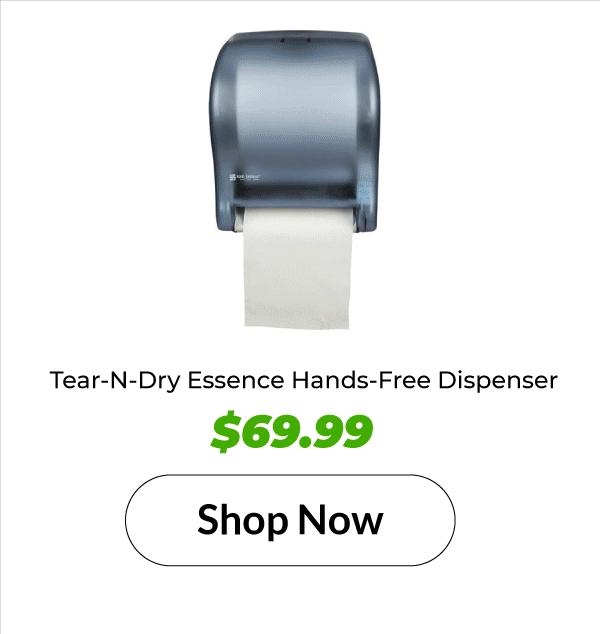 Tear-N-Dry Essence Hands-Free Dispenser