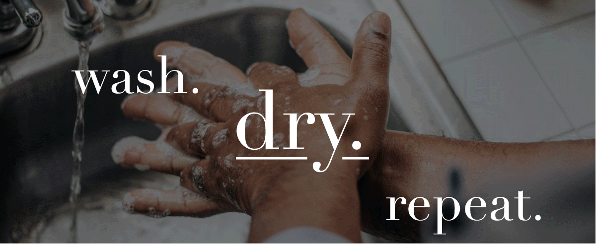 wash. dry. repeat.
