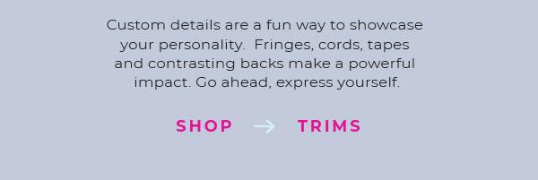 Shop Trims