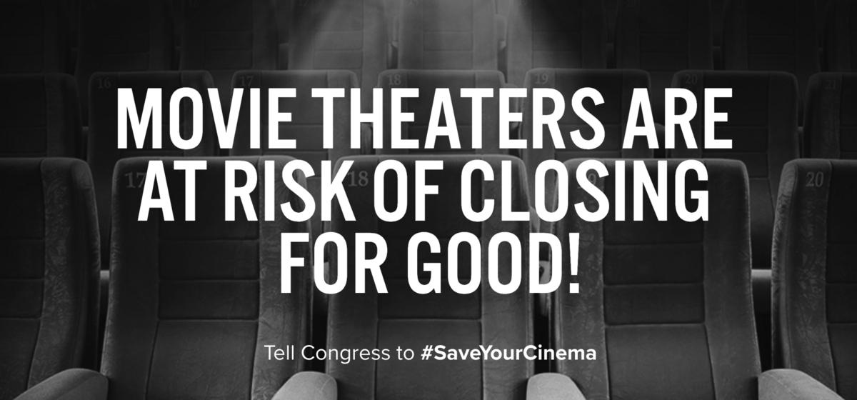 Send a message to save cinemas