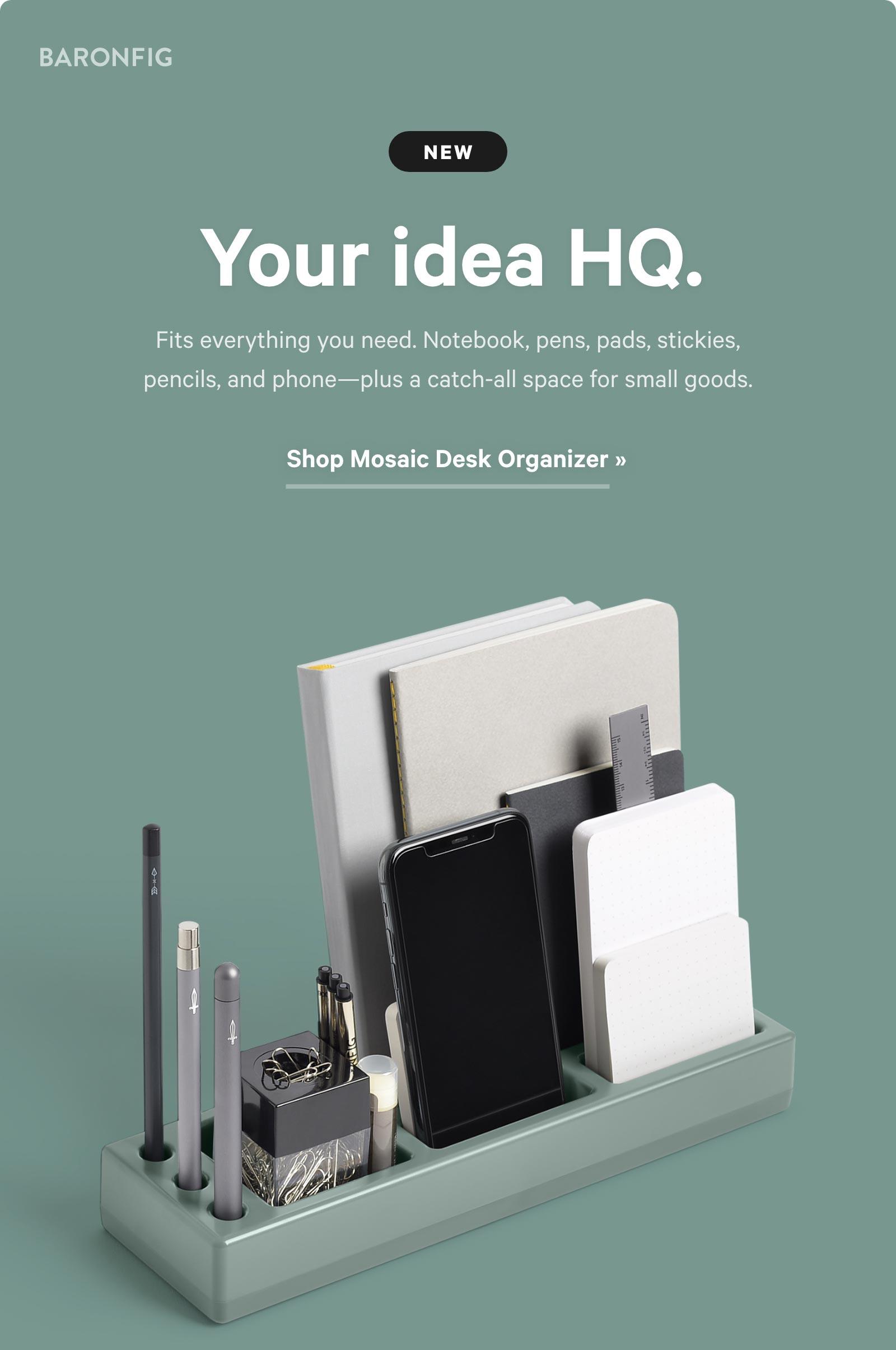 Your idea HQ. Shop Mosaic Desk Organizer ?
