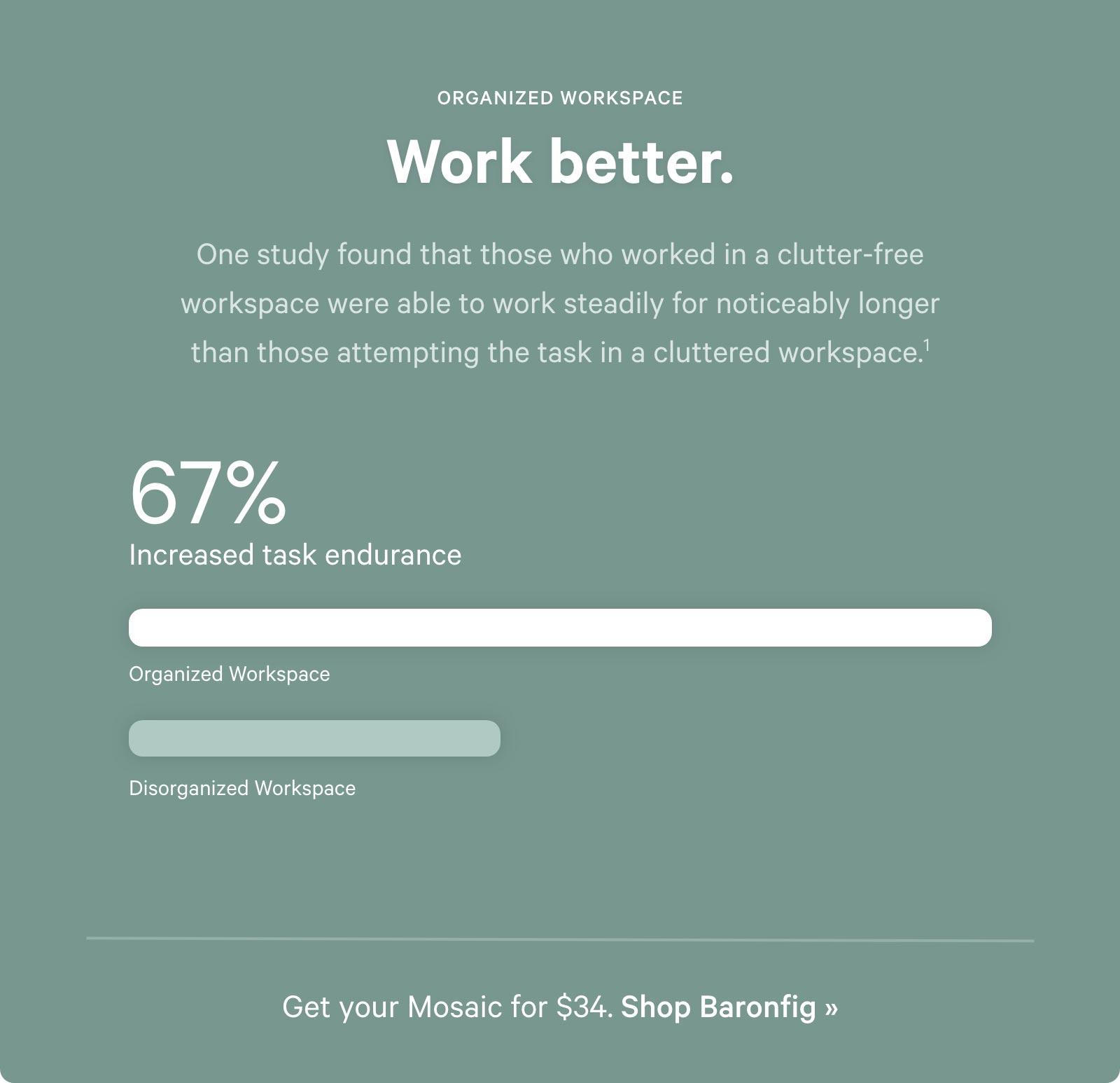 Work better.