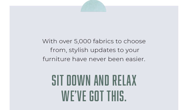 Explore Reupholstery