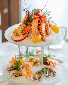 Shellfish Tower at Lobster Bar Sea Grille Fort Lauderdale