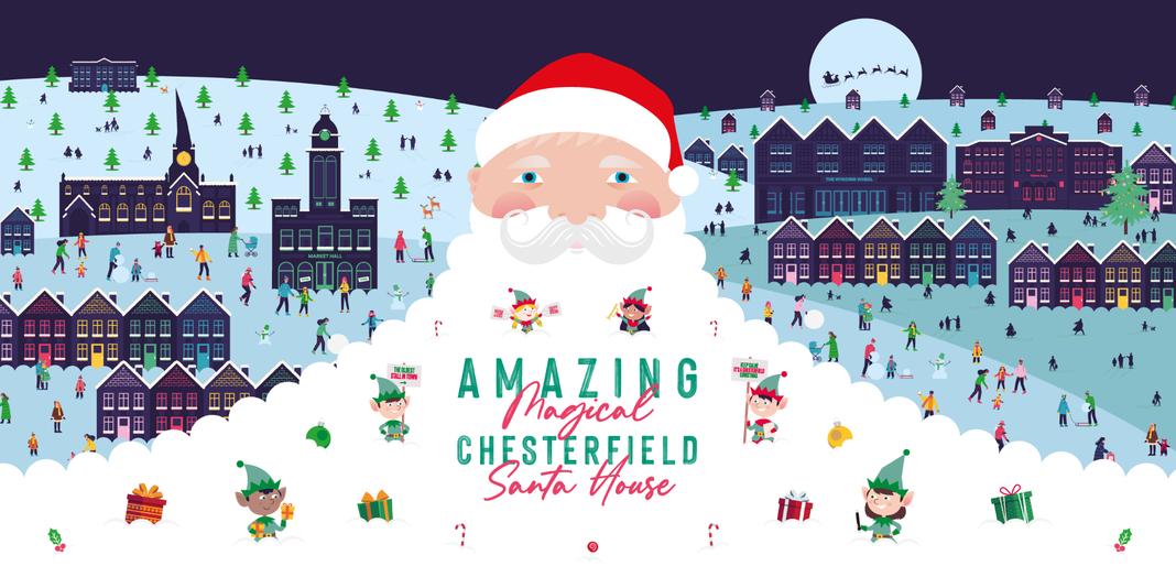 Amazing Magical Chesterfield Santa House