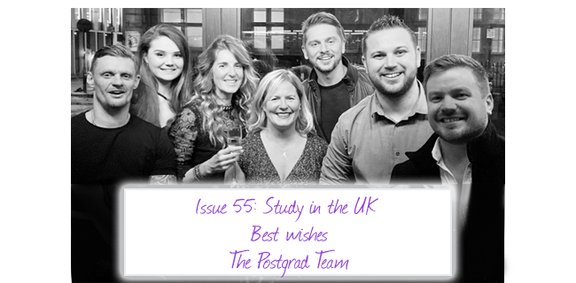 ISSUE 55: Study in the UK