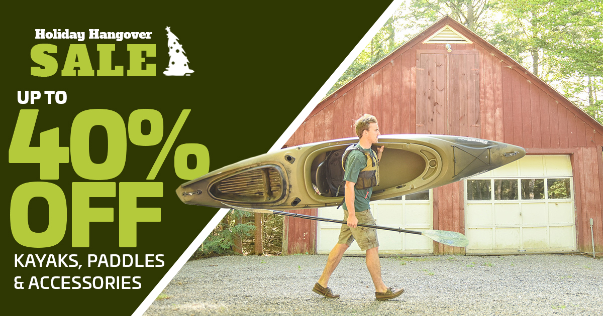 Up To 40% Off Kayaks, Paddles & Accessories