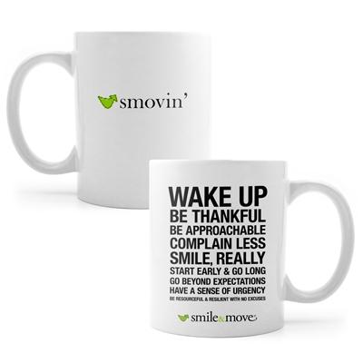 Smile & Move Mug