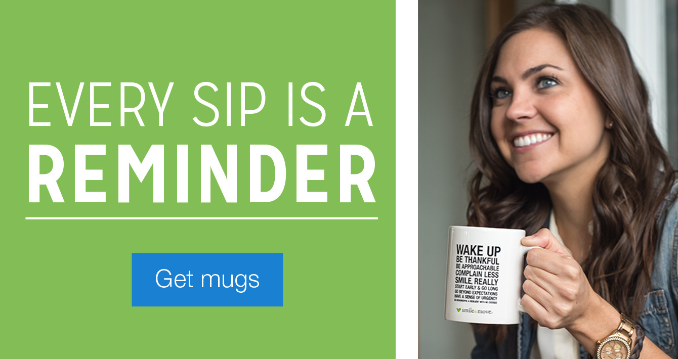 Every sip is a reminder. Get Mugs.