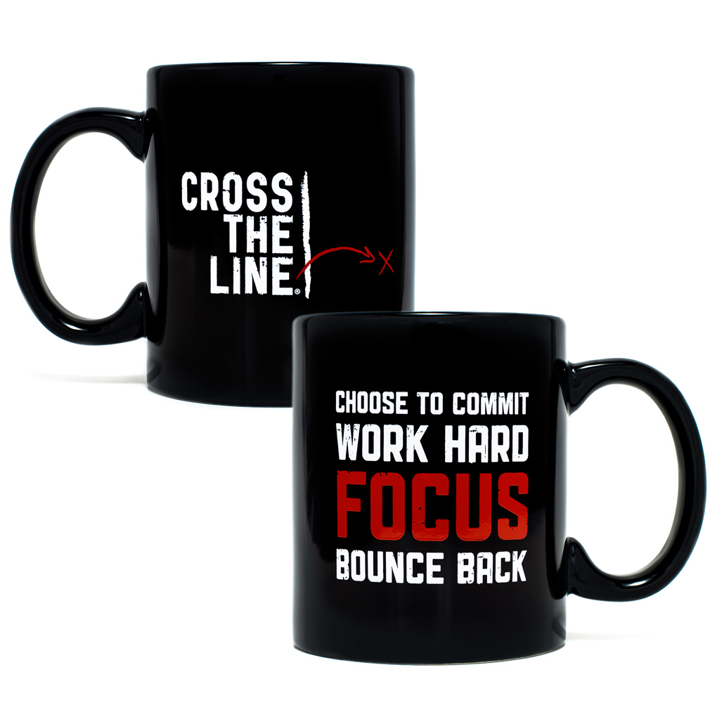 Cross The Line Mug - Original