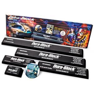 Large Dura Block Kit with dvd (5 blocks+DVD) 6pc