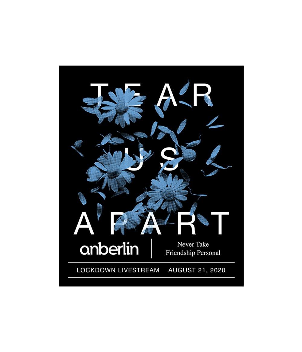 Anberlin Tear Us Apart Livestream Ticket
