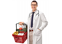 doctor grocery shopping