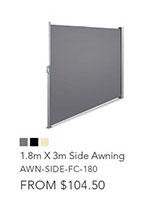 1.8m X 3m Side Awning